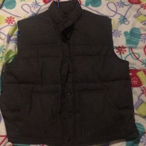 Men's HEAVY wool lined vest